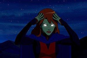 Miss Martian - Miss Martian in Young Justice.
