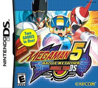 Mega Man Battle Network 5 - North American Mega Man Battle Network 5: Double Team DS box art