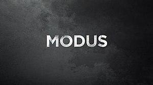 Modus (TV series) - Image: Modus title