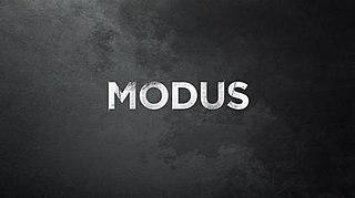 <i>Modus</i> (TV series) Swedish 2015 TV-series