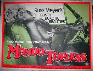 <i>Mondo Topless</i> 1966 film by Russ Meyer