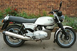 Wankel engine - Norton Classic air-cooled twin-rotor motorcycle