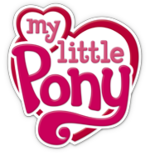 """My Little Pony (2003 toyline) - Logo from the """"Generation 3.5"""" era (until mid-2010, but still used in some countries as of 2011)"""