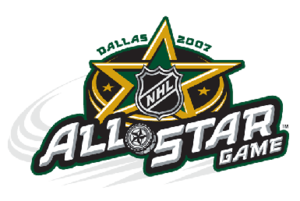 55th National Hockey League All-Star Game - Image: NHL All Star 2007