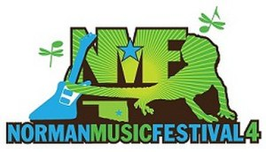 Norman Music Festival - Image: NMF4Logo Small