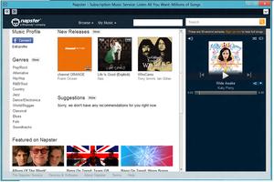 Napster (pay service) - Image: Napster image