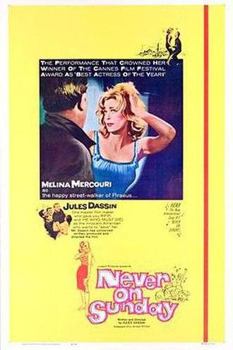 Never on Sunday - Image: Never on sunday 423