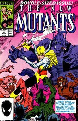Dan Green (artist) - Image: New Mutants 50