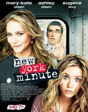New York Minute (film) - Theatrical release poster