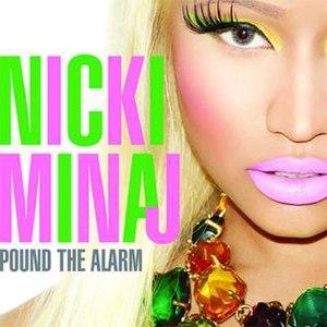Pound the Alarm - Image: Nicki Minaj Pound The Alarm