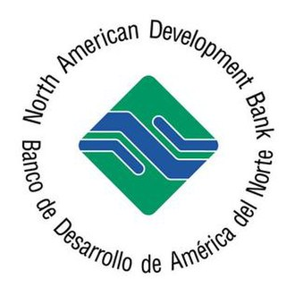 North American Development Bank - Logo of the North American Development Bank, from their Twitter page