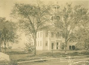Assonet, Massachusetts - North Church c. 1900.