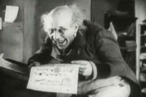 Alexander Granach - Alexander Granach as Knock in Nosferatu (1922)