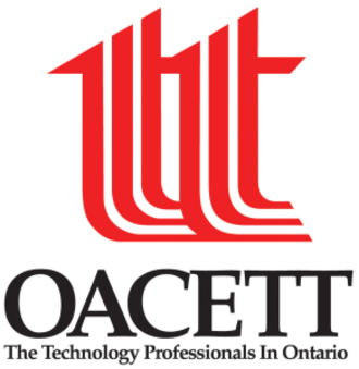 Ontario Association of Certified Engineering Technicians and Technologists - The main OACETT logo.