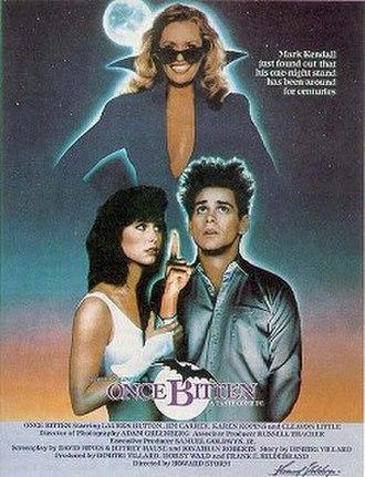 Once Bitten (1985 film) - Film poster