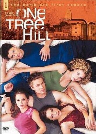 One Tree Hill (season 1) - One Tree Hill Season 1 DVD cover