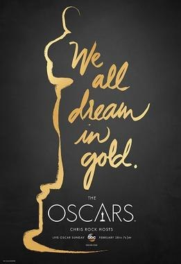 Official poster promoting the 88th Academy Awards in 2016.