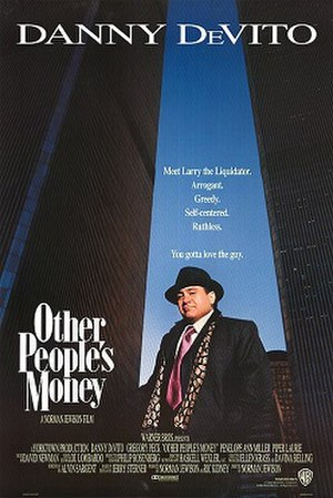 Other People's Money - Theatrical release poster