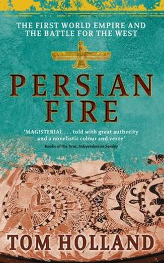 Persian Fire - The first edition cover.