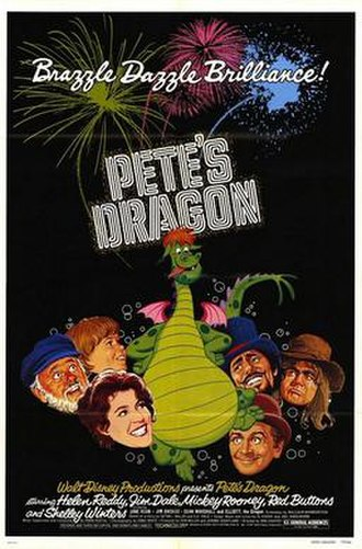 Pete's Dragon (1977 film) - Original theatrical release poster