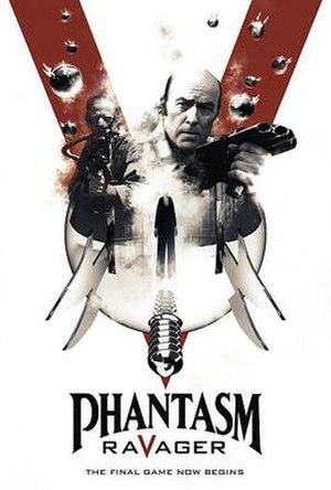 Phantasm: Ravager - Image: Phantasm Ravager (2016 Film)