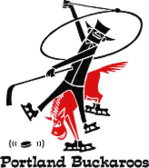 Portland Buckaroos - Portland Buckaroos WHL logo (1960–1974)