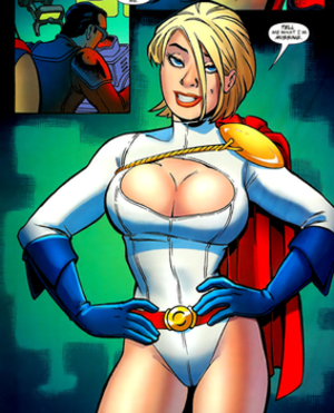 Amanda Conner - Image: Power Girl Amanda Conner