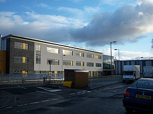 Prestwick Academy - The new building the day before its opening to pupils