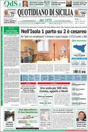 Quotidiano di Sicilia - Image: Quotidiano di Sicilia