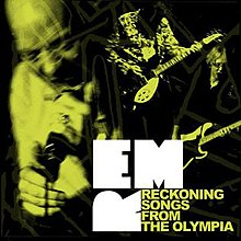 Cover to the promotional EP released through the iTunes Store to promote Live at The Olympia