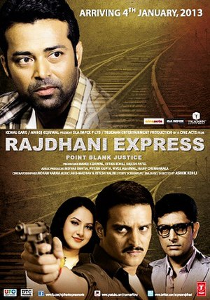 Rajdhani Express (film) - Theatrical release poster