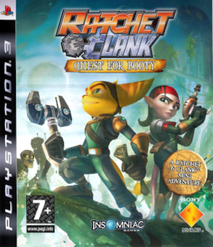 Ratchet & Clank Future: Quest for Booty - European PlayStation 3 cover art