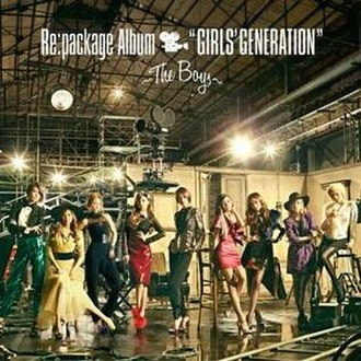 Girls' Generation (2011 album) - Image: Repackage the boys