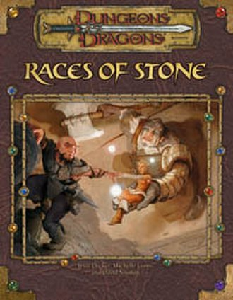 Races of Stone - Cover of Races of Stone