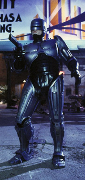 RoboCop (character) - RoboCop as portrayed by Peter Weller in the original film.