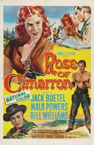 Rose of Cimarron (film) - Original film poster
