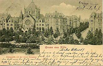 Roonstrasse Synagogue - Image: Roonstrasse 1903