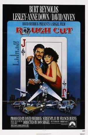 Rough Cut (1980 film) - Theatrical poster