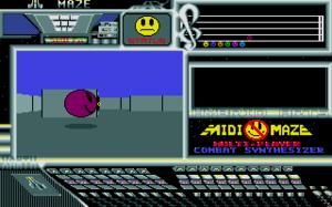 MIDI Maze - Screenshot of MIDI Maze (Atari ST)