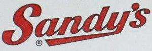 Sandy's - Image: Sandy's Logo