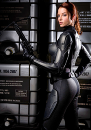 Scarlett (G.I. Joe) - Rachel Nichols as Scarlett in G.I. Joe: The Rise of Cobra.
