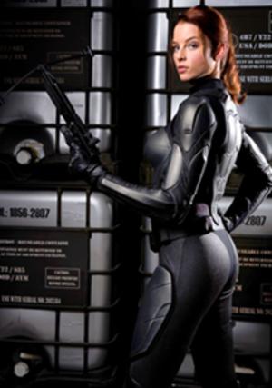 Scarlett (G.I. Joe) - Rachel Nichols as Scarlett in G.I. Joe: The Rise of Cobra.