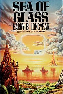 <i>Sea of Glass</i> book by Barry B. Longyear