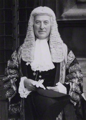 Harry Hylton-Foster - 1960 portrait of Hylton-Foster dressed in the Speaker′s robes.