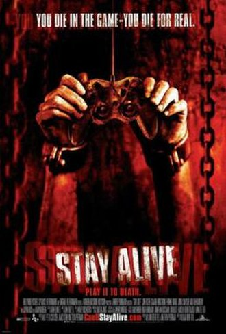 Stay Alive - Theatrical release poster