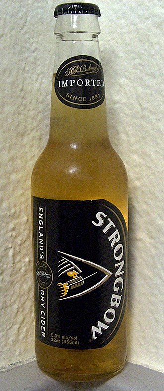 Strongbow (cider) - Now-discontinued original United States bottled version.
