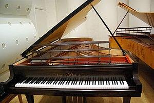 Stuart & Sons - Image: Stuart & sons 2.9m 102 note piano