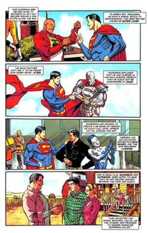 Supermen of America - Image: Supermen of America II Superman 714