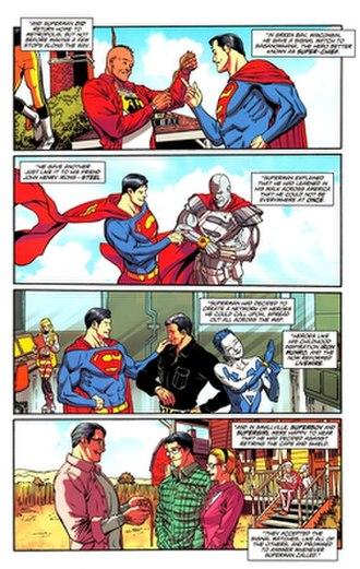 Supermen of America - Image: Supermen of America II Superman 714