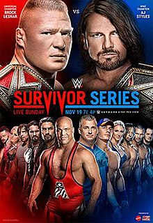 Image result for wwe survivor series 2018 cover